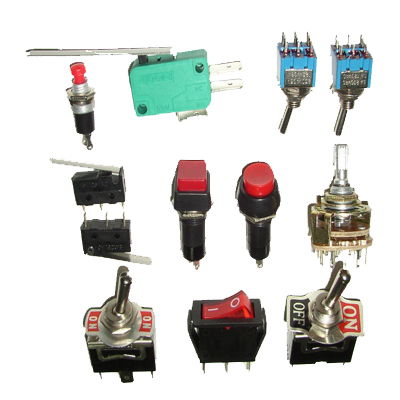 Switches Toggle and Rotary
